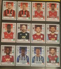 Panini premier league 2020 football stickers. Transfer update x48