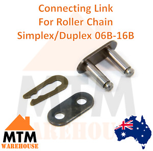 Connecting Link Con Clip Single/Duplex Roller Chain  06B 08B 10B 12B 16B Master