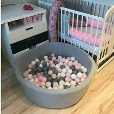 Ballpool Bällebad Kugelbad Bällchenbad Bällchenpool für Baby+200 Bällen