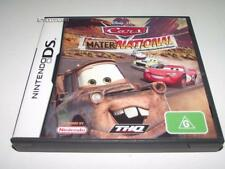 Cars Mater National Championship Nintendo DS 2DS 3DS Game Preloved *Complete*