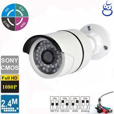 HD-TVI HD-CVI HD-AHD 960H 2.4MP 1080P 4 IN 1 Bullet Camera 3.6mm 36 IR Sony CMOS