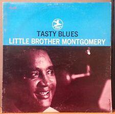 Little Brother Montgomery Tasty Blues 1961 Vinyl LP MONO