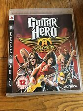 Guitar Hero Aerosmith (unsealed) - PS3 UK Release New!
