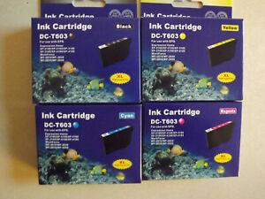 8 Druckerpatronen für Epson 603 XL Expression Home XP-2105 XP4105 WF2810 WF2850