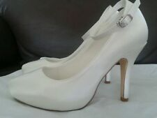 High Heel (3-4.5 in.) Unbranded Satin Bridal Shoes
