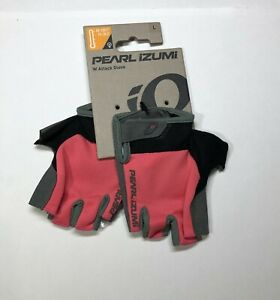 Pearl Izumi Attack Bike Gloves Women Size Large Sugar Coral Color Half Fingers