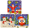 6 Christmas Jigsaw Puzzles - Pinata Toy Loot/Party Bag Fillers Wedding/Kids