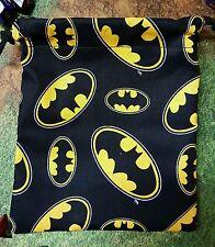 Batman logo dice bag, card bag, makeup bag