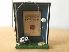 """New Russ 3D Golf Picture Frame - Holds 3 1/2"""" x 5"""""""