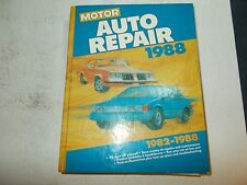 1988 MOTOR'S AUTO REPAIR MANUAL 82 83 84 85 86 87 88 FORD CHRYSLER CADILLAC GM