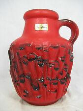 "Rare / seltene  70´s design Carstens "" Relief ""Keramik Vase  "" Basalt "" 7588-20"