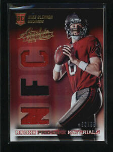 MIKE GLENNON 2013 PANINI ABSOLUTE ROOKIE TRIPLE USED JERSEY RC #38/99 AD7615