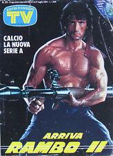 SORR 29 1985 Sylvester Stallone Marcella Gianni Bella Fiorella Mannoia Ben Cross
