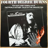 "FRANK MARINO MAHOGANY RUSH FOURTH DEGREE BURNS 1980 UK CBS VINYL 12 "" 12 8637"