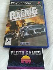 Jeu Paris Marseille Racing Destruction Madness PS2 Complet CIB - Floto Games