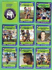 1990 CANTERBURY BULLDOGS  STIMOROL RUGBY LEAGUE CARDS