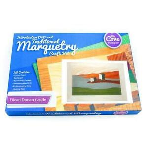 Ellen Donan Castle Marquetry Woodwork Craft Kit From UK For Adults & Beginners