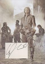 LUKE PASQUALINO Signed 12x8 Photo Display THE MUSKETEERS COA