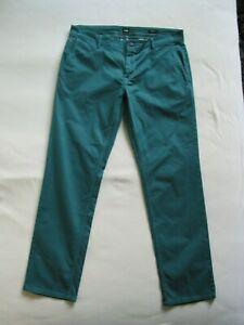 BOSS  Herren Hose Regular Fit Dark Green Gr. W35 / L32
