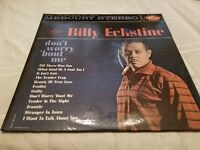 Billy Eckstine ‎Don't Worry 'Bout Me Vinyl Record LP - 1962 - SR 60736