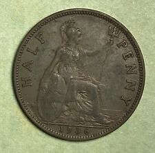1936 Great Britain Half Penny , Free Shipping
