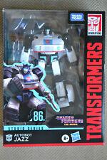 Transformers Generations Studio Series 86 Jazz BRAND NEW Deluxe Class