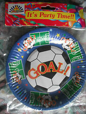 Football Paper Party Tableware