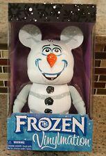 "New Disney World Parks VINYLMATION 9"" Figure - FROZEN OLAF Snowman"