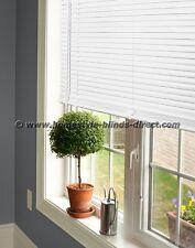 P.V.C Venetian Blind Drop 150cm Window Blind Easy Fit Multiple Sizes White/Black