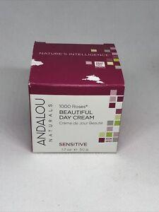 ANDALOU NATURALS 1000 Roses Beautiful Day Cream Sensitive 1.7 oz