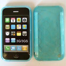 Skinz Silikonhülle  für iPhone 3G 3GS türkis glanz  NEU