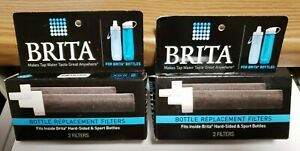 Brita Bottle Replacement Filters, 4 pack BB06 - For Hard-Sided & Sport Bottles