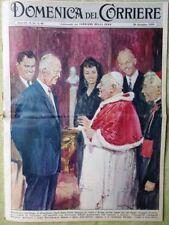 La Domenica del Corriere 20 Dicembre 1959 Crisi Governo Sicilia Elizabeth Taylor