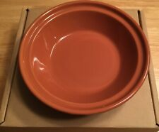New ListingLongaberger Vitrified Pottery Small Pie Plate - Spice - New - Rare