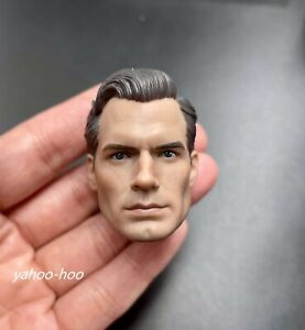 1/6 scale Superman Henry Cavill Head Sculpt  3.0 for 12'' Action Figure PHICEN
