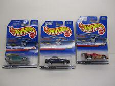 Hot Wheels Lot -Phaeton, Ferrari 333 SP, Mercedes SLK 1999, 2000 First Editions