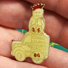 ROYAL ORDER OF JESTERS lapel pin, Connies Courrier, class of 86, ROJ court 84