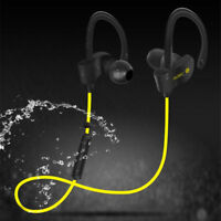 Wireless Bluetooth Sweatproof Sport Gym Headset Stereo Headphone Earphone Earbud