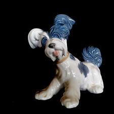 Lladro Spanish Porcelain Skye Terrier #4643 *Adorable!