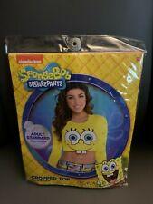 New Spongebob Squarepants Adult Cropped Top