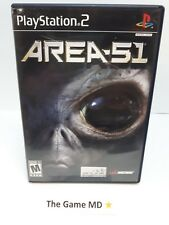 Area 51 (Sony PlayStation 2, 2005) NTSC