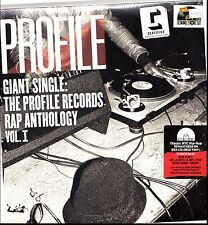 "Giant Single Profile Records Rap Anthology V1 2x12"" Red Vinyl RSD 2017 NEW"