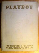 Original Playboy Magazine January 1969 Playmate Review, Leslie Bianchini