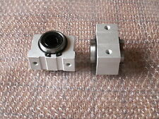 SCV20UU SC20VUU CNC Linear Cylinder Ball Bearing Pellow Block House with LM20UU