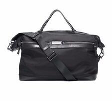 $940 Michael Kors Mens BLACK WEEKENDER TRAVEL JET SET Signature Briefcase BAG