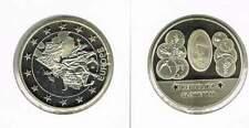 Penning met afbeelding 1 euro en munten Slovenië (a107)