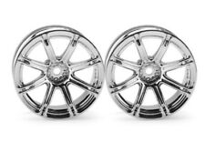 HPI Racing WORK EMOTION XC8 WHEEL 26mm CHROME 9mm OFFSET 1/10 Touring Car