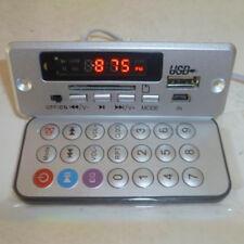 1x Bluetooth MP3 WMA Décodeur Module Sans Fil 12V Audio USB TF FM Radio Voiture