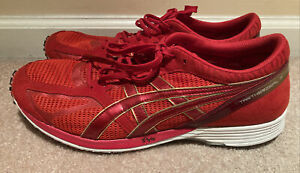 Asics Tartherzeal 3 Mens Size 11 Chinese New Year CNY Red Suede Super Light!