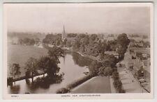 Warwickshire postcard - General View, Stratford on Avon - RP